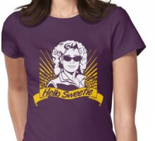Hello Sweetie | Doctor Who Womens Fitted T-Shirt