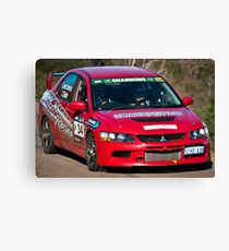 Targa West 2011 - Car 34 - Photo 3 Canvas Print