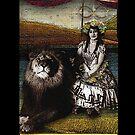 Circus Tarot: Strength by DuckSoupDotMe