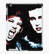 TJ + JD Painting - Black Background iPad Case/Skin