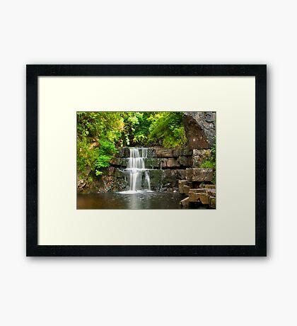 Waterfalls Framed Print