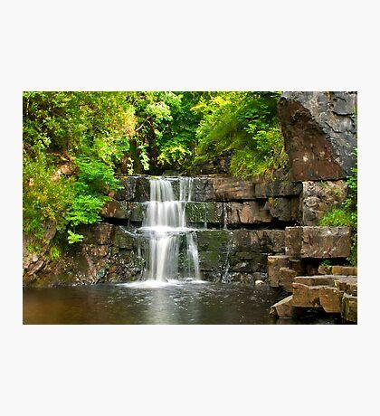 Waterfalls Photographic Print