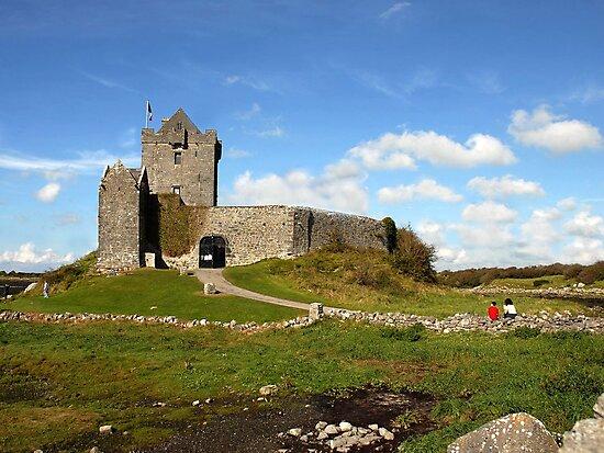 Dunguaire Castle, Kinvara, Ireland. by JoeTravers