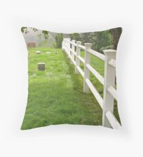 Do Fence Me In Throw Pillow