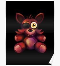 Five Nights at Freddy's - Fnaf 4 - Foxy Plush Poster