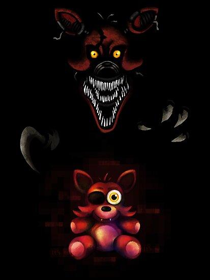 five nights at freddy s fnaf 4 nightmare foxy plush