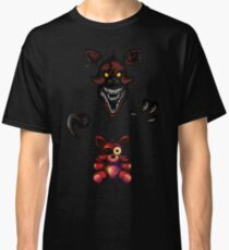 Five Nights at Freddy's - Fnaf 4 - Nightmare Foxy Plush Classic T-Shirt