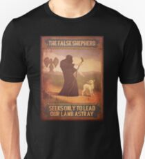 BioShock Infinite – The False Shepherd Seeks Only To Lead Our Lamb Astray Poster Unisex T-Shirt
