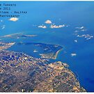 Flying Over Toronto by lisabella
