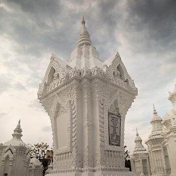 White churchyard by madebyrina