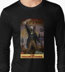 The Thaumaturge: Circus Tarot by Duck Soup Productions Long Sleeve T-Shirt