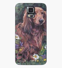 Dachshund Fine Art Painting Case/Skin for Samsung Galaxy