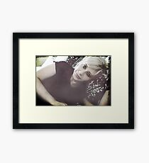 Just Waiting For That Day Framed Print