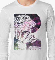 A Nightmare on Elm Street | Freddy Krueger | Robert Englund | Galaxy Horror Icons Long Sleeve T-Shirt
