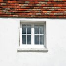 White Wall, Square Window by Celia Strainge