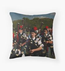 The Pipes, The Pipes Throw Pillow
