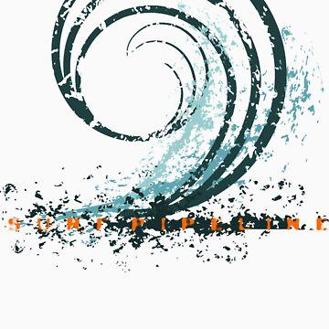 Surf Pipeline by ronyjackson