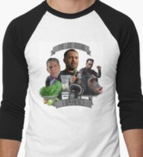 The Joe Rogan Experience - Colour  Men's Baseball ¾ T-Shirt