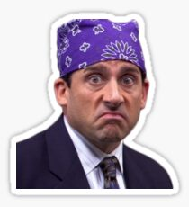 Michael Scott - Prison  Sticker