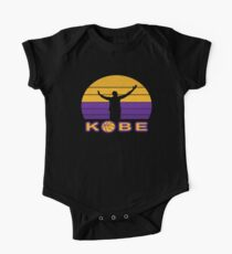 kobe retro  Short Sleeve Baby One-Piece