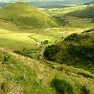 Auvergne: typical landscape by bubblehex08