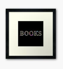 Books. Framed Print
