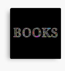 Books. Canvas Print