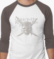 Yo Ho, Yo Ho A Pirate's Life for Me Men's Baseball ¾ T-Shirt