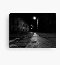 London Road at night Canvas Print