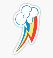 Rainbow Dash Cutie Mark (Large icon) - My Little Pony Friendship is Magic Sticker