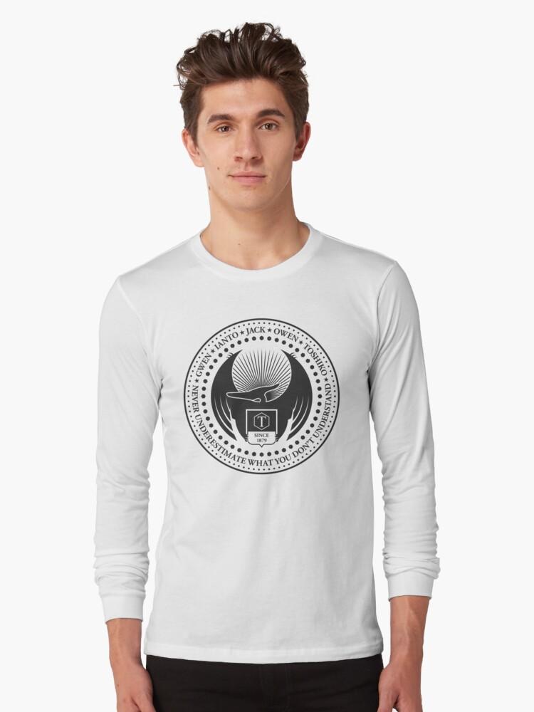 Never Underestimate - Light Long Sleeve T-Shirt Front
