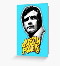 Austin Powers Greeting Card