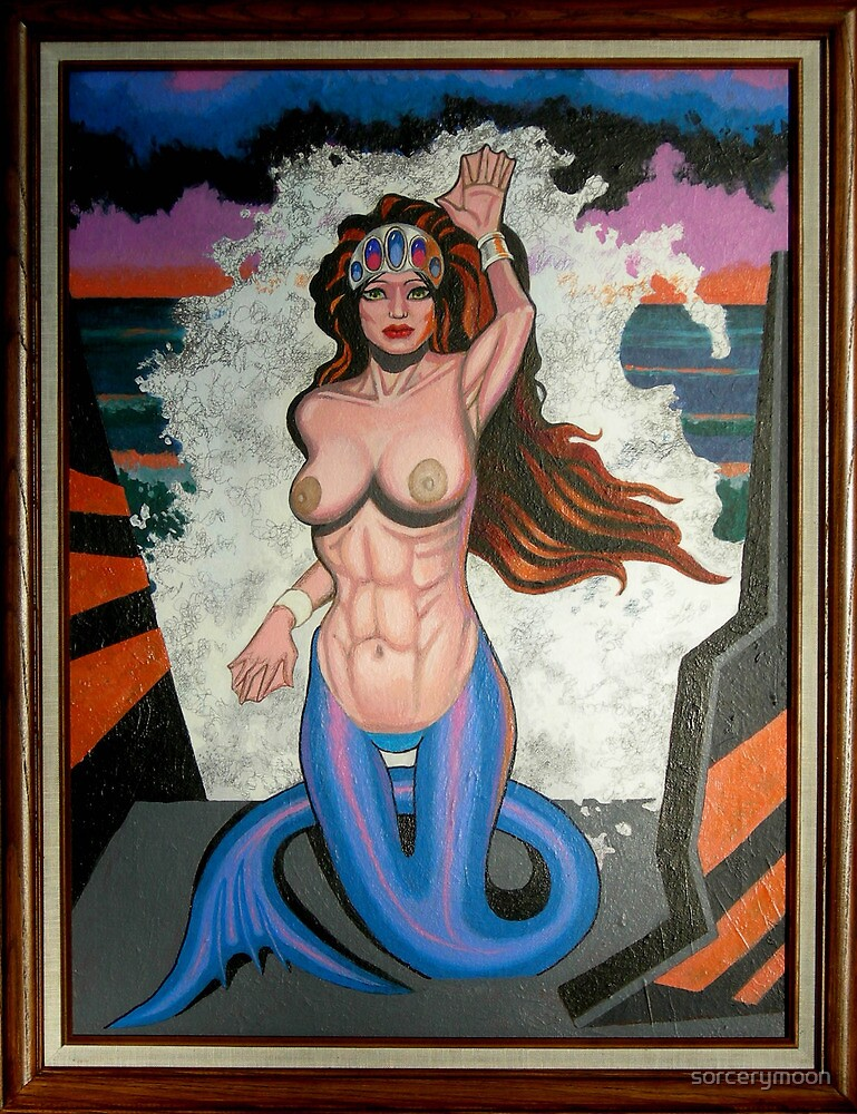 QUEEN OF THE SEA by sorcerymoon