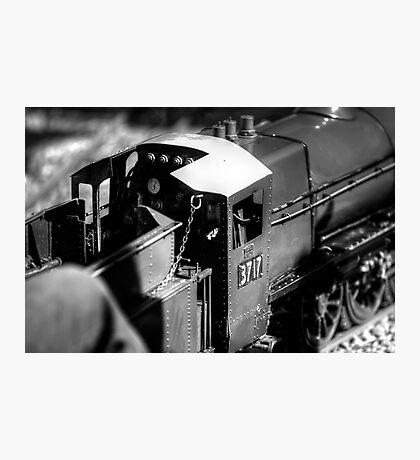 Miniature Steam Train Photographic Print