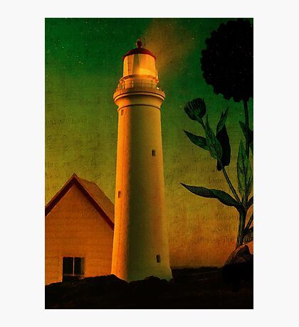 The Magic Lighthouse Photographic Print