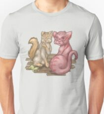 Rage and Danni Cats Unisex T-Shirt
