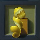 Lemon trompe l'oeil by Paul Coventry-Brown