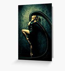 Black Widow 2 Greeting Card