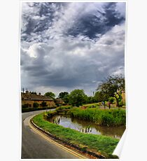 The Cotswolds: Bourton-on-the-Water Poster