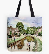 The Cotswolds: Watercolour Tote Bag
