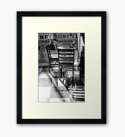 Silent invitation Framed Print