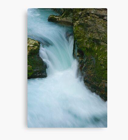 Artistic flow Canvas Print