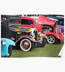 Hot Rods Poster