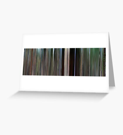 Moviebarcode: Stand by Me (1986) Greeting Card