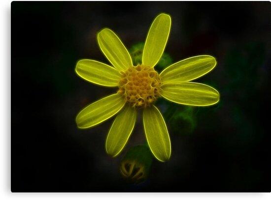 Fractal Yellow Purity Radiation by Atılım GÜLŞEN