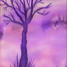 Purple Tree by CarolineLembke