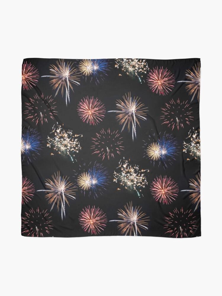 Alternate view of Fireworks Scarf