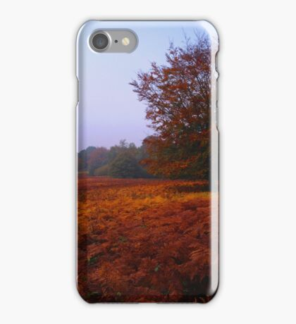 Autumn Field iPhone Case/Skin