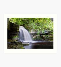 West Burton Falls II Art Print