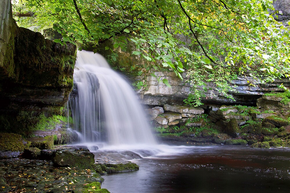 West Burton Falls II by Andrew Leighton